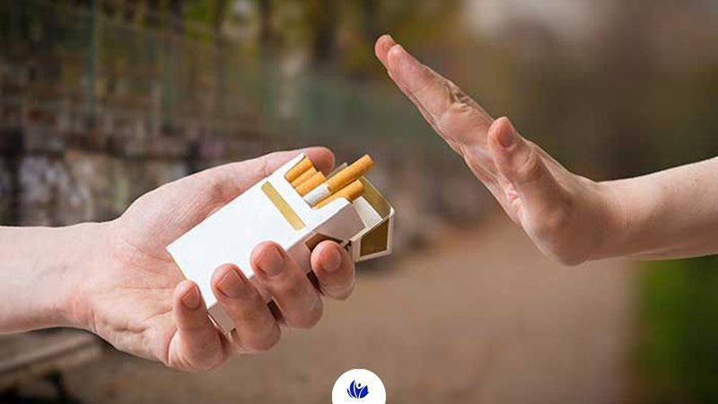 ترک سیگار با استفاده از چسب نیکوتین