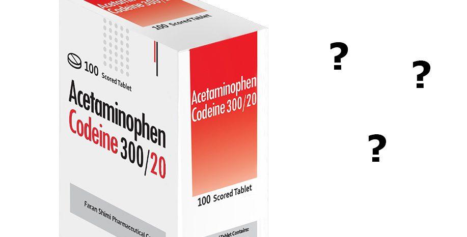 استامینوفن-کدئین